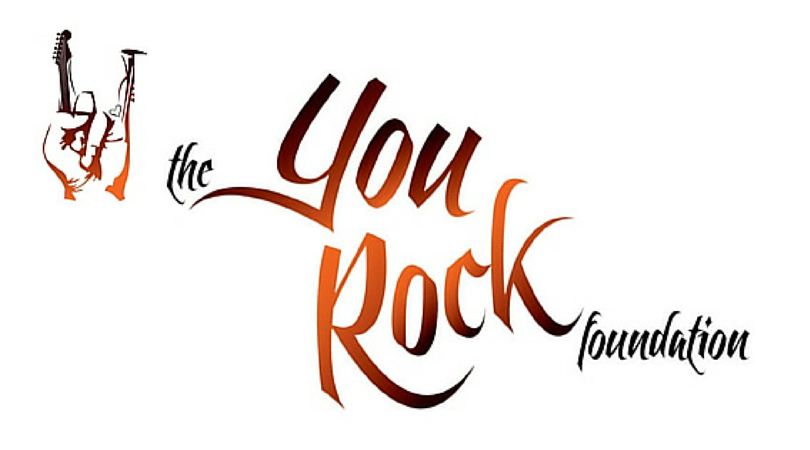 Logo for You Rock Foundation