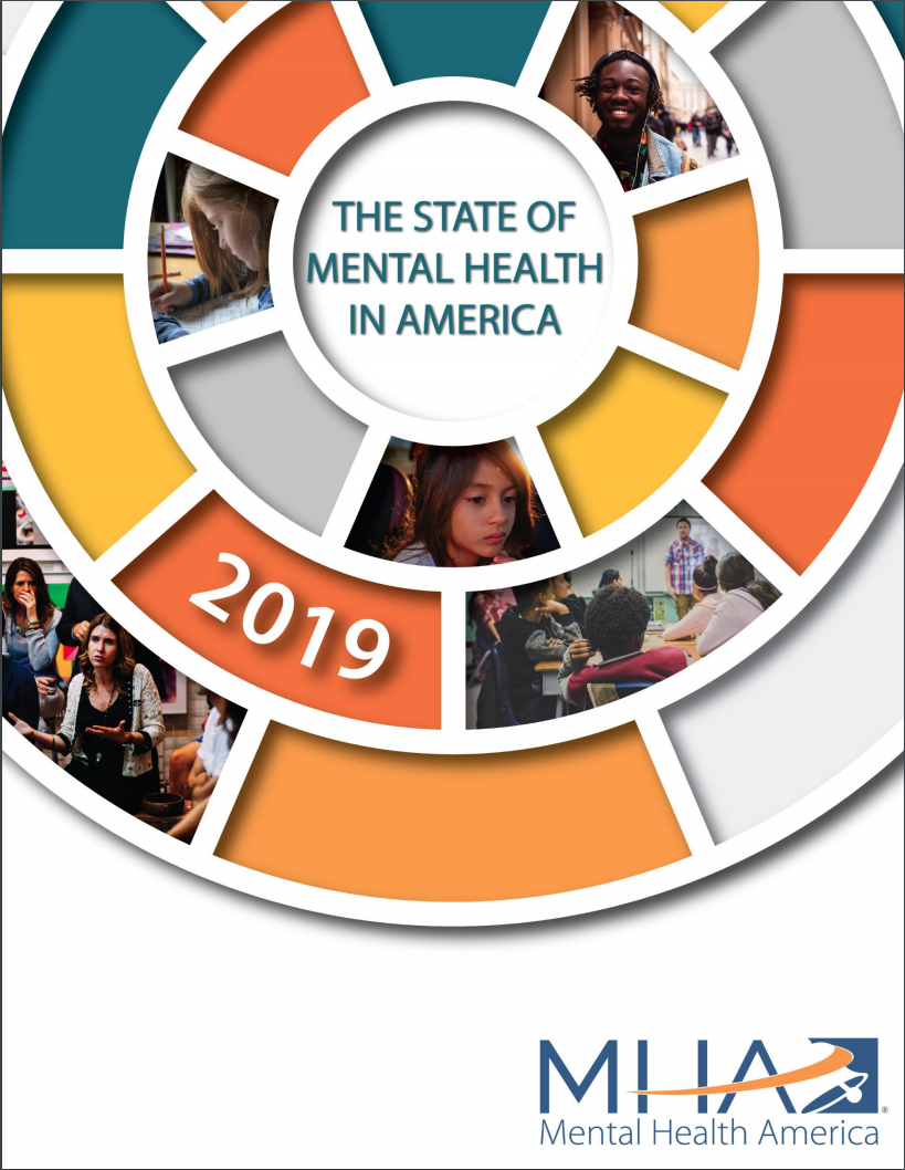 State of Mental Health in America Report Cover