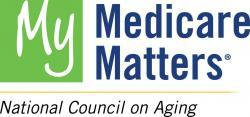 Logo for My Medicare Matters, a program of the National Council on Aging