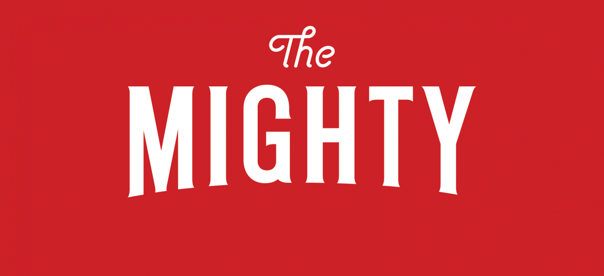 Logo for The Mighty